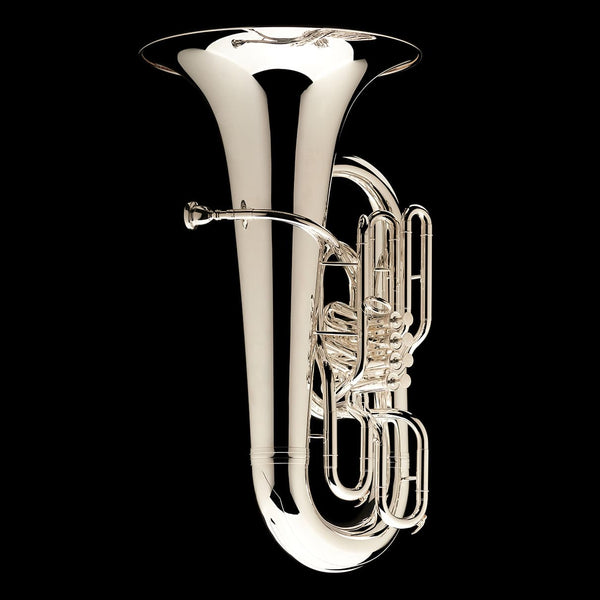 An alternative image of a Eb Front Piston Compensated Tuba 'Cavalry' from Wessex Tubas