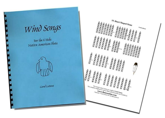 Song Books for Native American Flutes