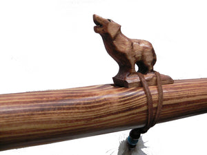Jonah Thompson Native American Wolf Flute