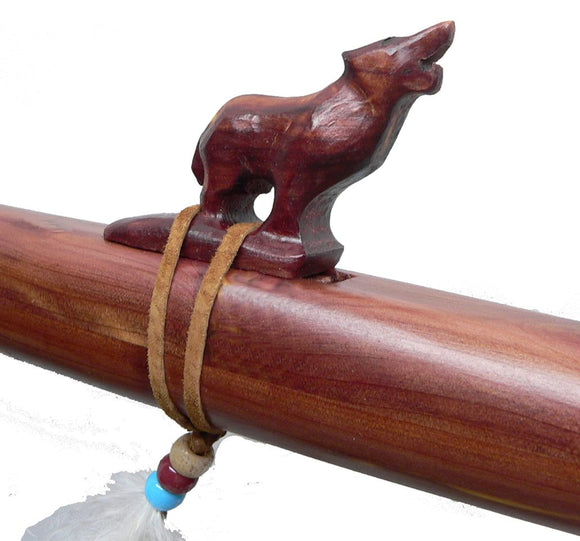 Native American Wolf Flute