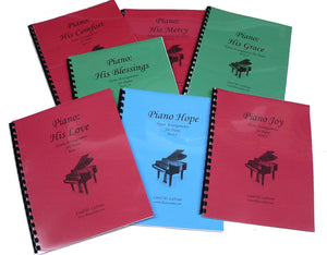 Piano Hymn Arrangement Books 8 - 14 as a Set # 2