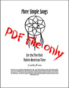 Native American Flute Song Book PDF