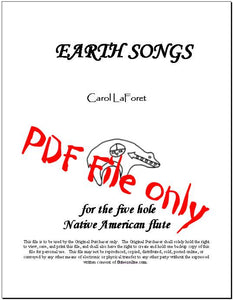 PDF file of Native American Flute Song Book