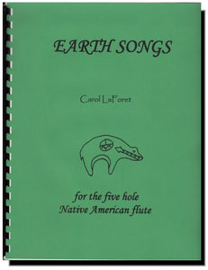 Native American Flute Song Book Earth Songs
