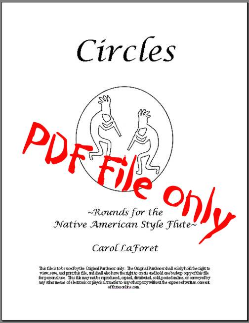 Native American Flute Song Book PDF File