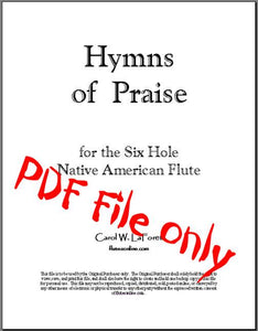 Hymns for Native American Flute PDF File