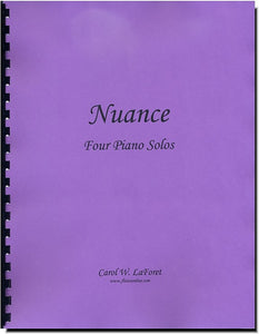 Nuance - Four Beginner Piano Solos