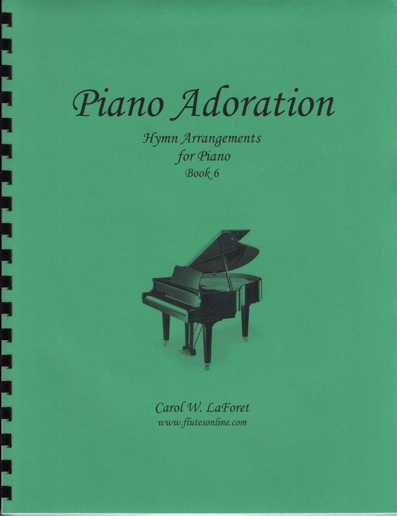 Piano Adoration Hymn Arrangements