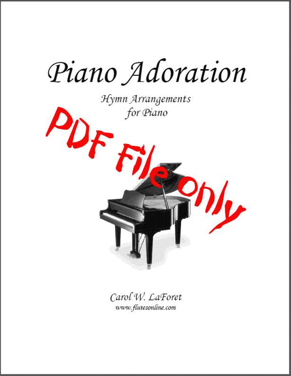 Piano Adoration Hymn Arrangements PDF File