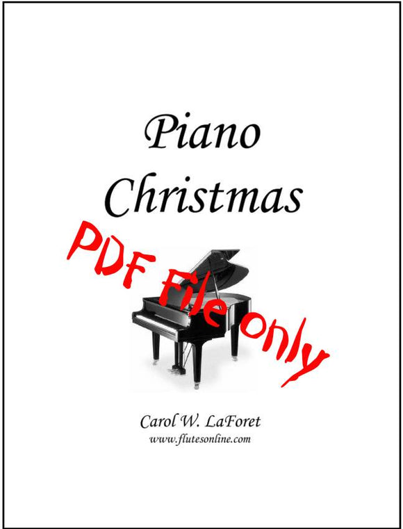 Piano Christmas Carol Arrangements PDF File