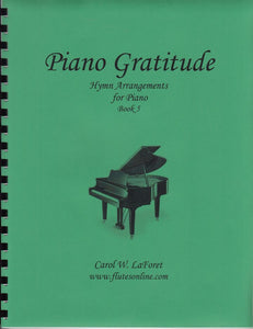 Piano Gratitude, Hymn Arrangements