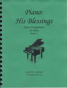 Piano: His Blessings Hymn Arrangements