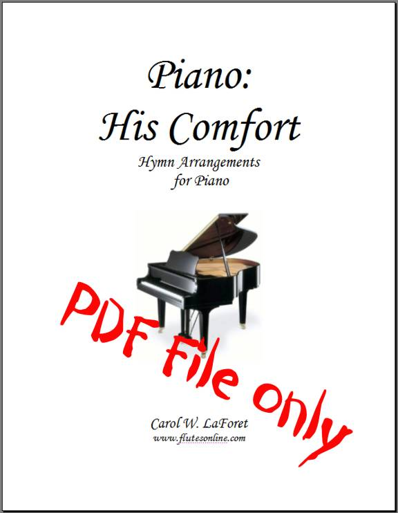 Piano: His Comfort Hymn Arrangements PDF File
