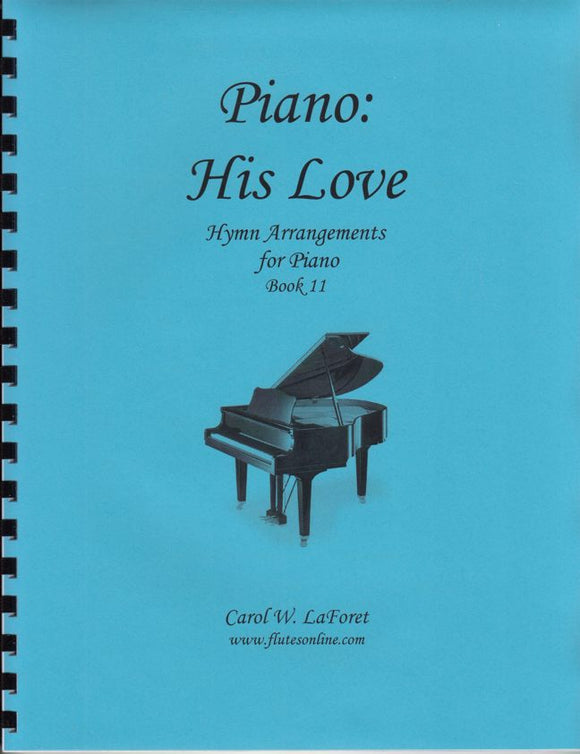Piano: His Love Hymn Arrangements