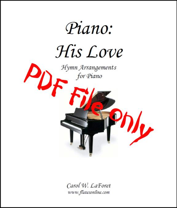 Piano: His Love Hymn Arrangements PDF File