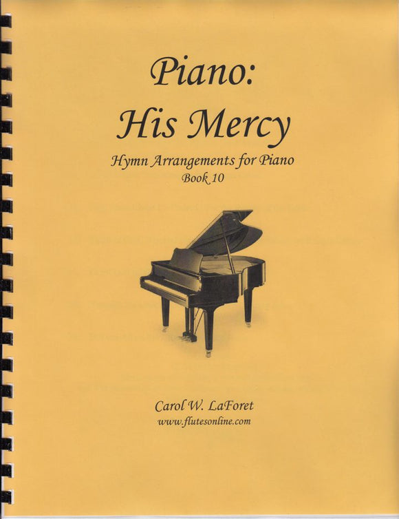 Piano: His Mercy Hymn Arrangements