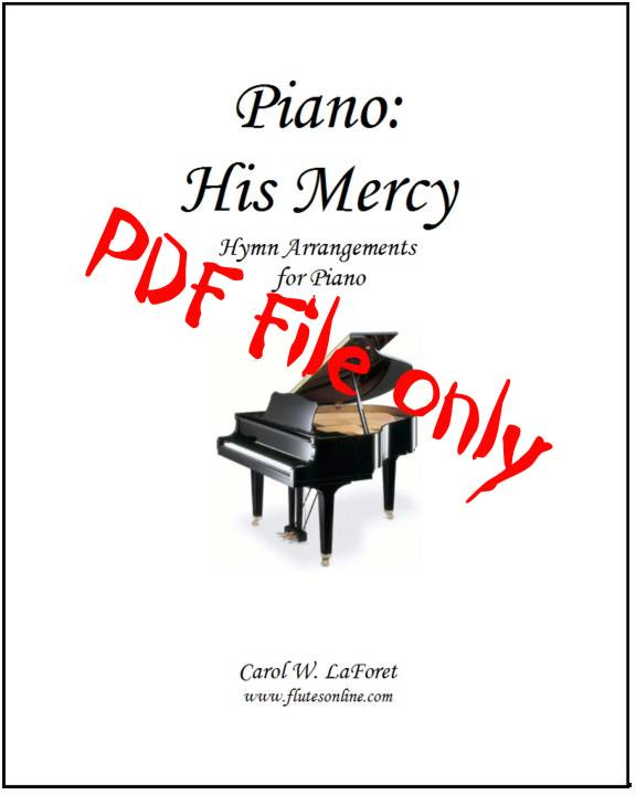 Piano: His Mercy Hymn Arrangements PDF File