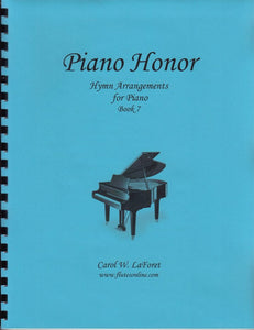 Piano Honor, Hymn Arrangements