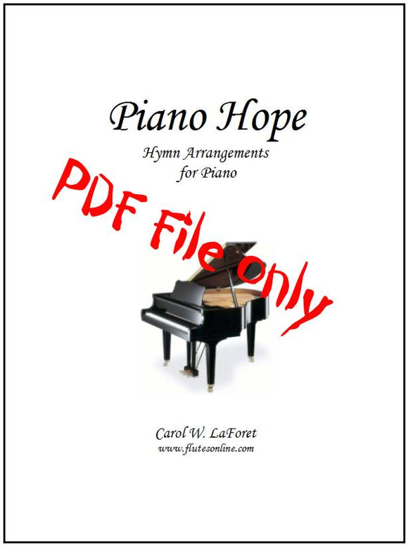 Piano Hope Hymn Arrangements PDF File