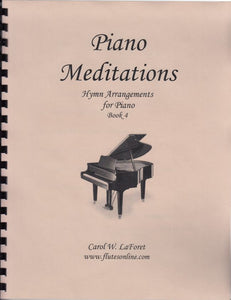 Piano Meditations Hymn Arrangements