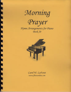 Morning Prayer Hymns for Piano