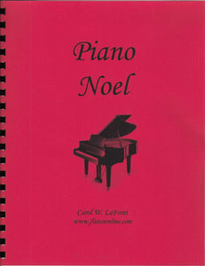 Piano Noel Christmas Carols