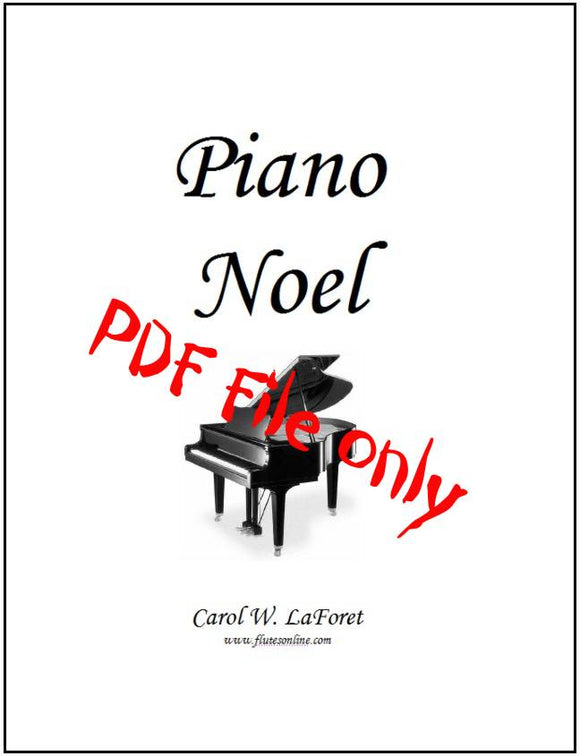 Piano Noel Christmas Carols PDF File