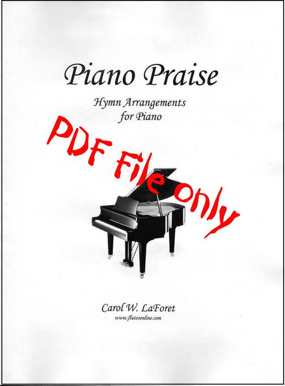 Piano Praise Hymn Arrangements PDF File