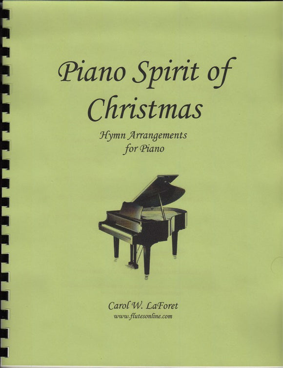 Piano Spirit of Christmas  Carol Arrangements