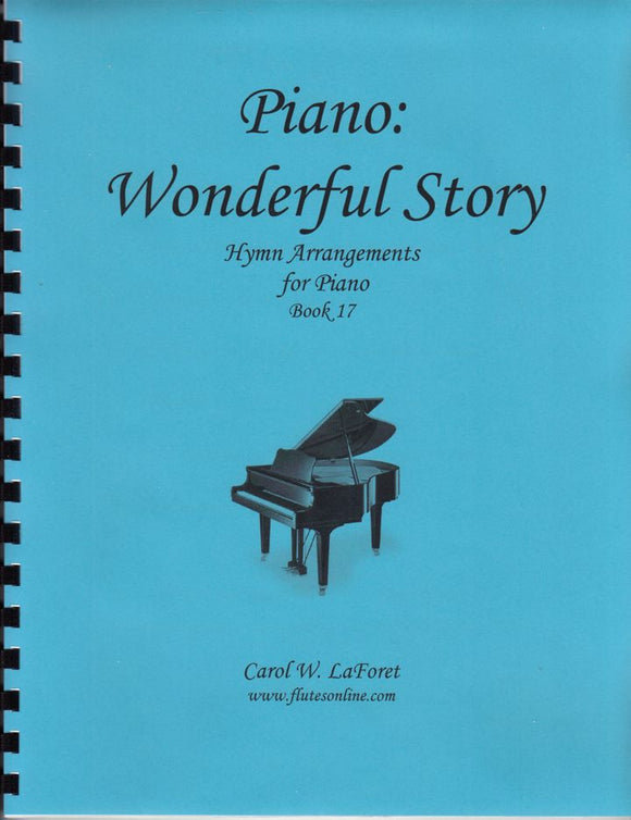 Piano: Wonderful Story Hymn Arrangements