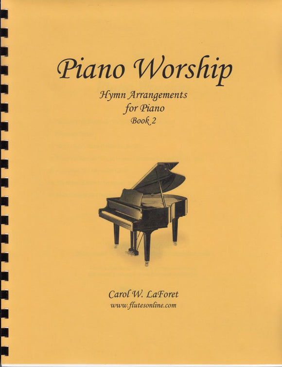Piano Worship Hymn Arrangements