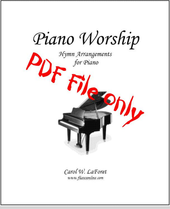Piano Worship Hymn Arrangements PDF File