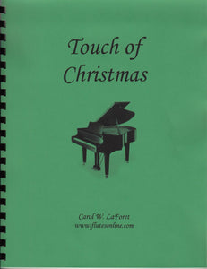 Christmas Carol Arrangements #3 - Touch of Christmas - Beginner Level Christmas Carol Solos
