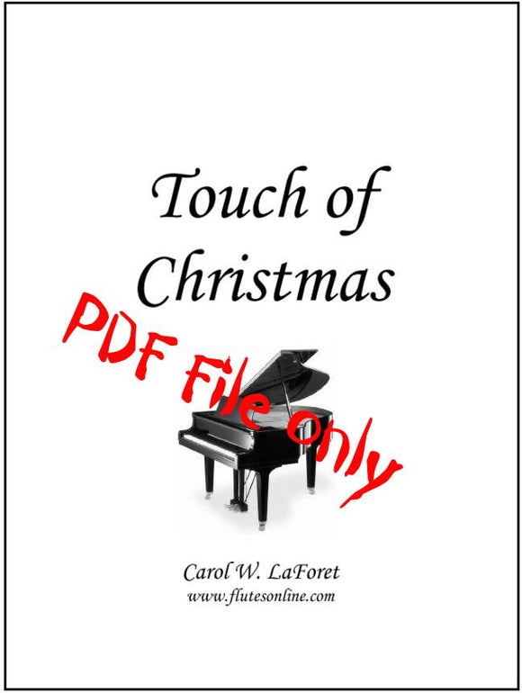 Christmas Carol Arrangements #3 - Touch of Christmas - Beginner Level Christmas Carol Solos PDF File
