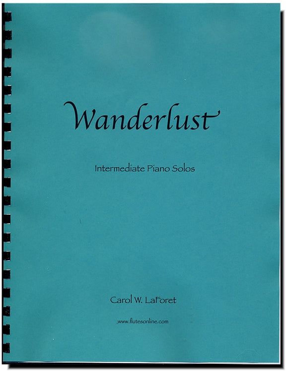 Wanderlust - Four Intermediate Piano Solos