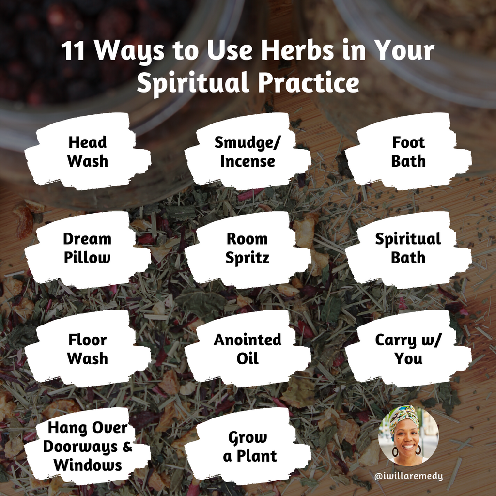 11 Ways to Use Herbs in Your Spiritual Practice