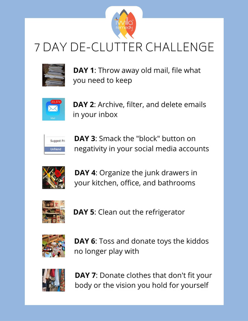 7- Day End-of-Decade Declutter Challenge