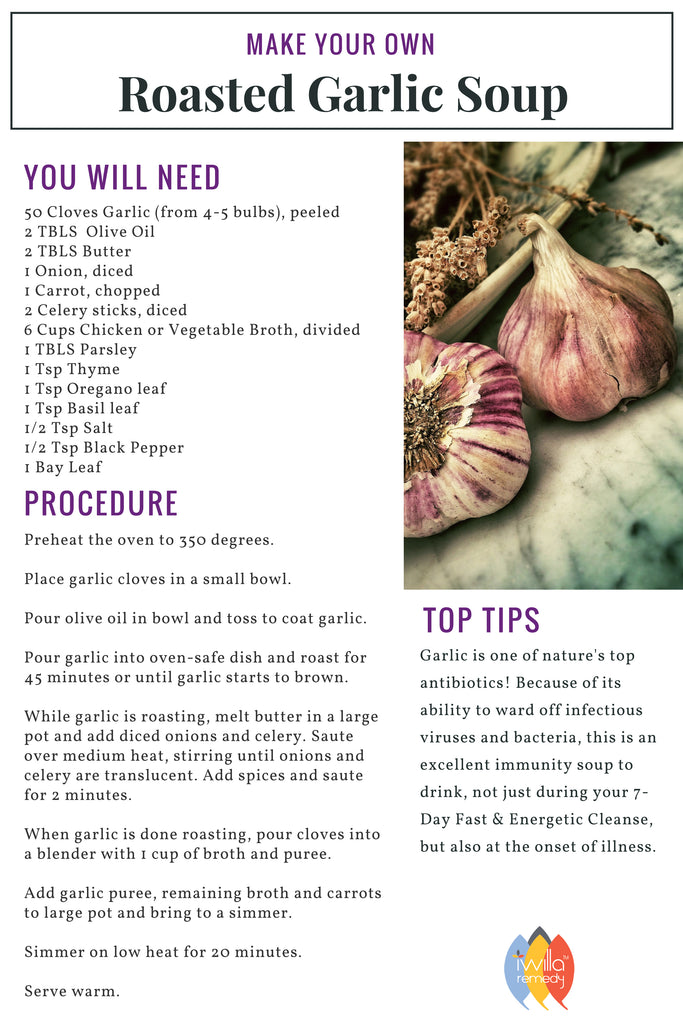 garlic soup recipe image