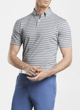 Mingus Stripe Stretch Jersey Polo