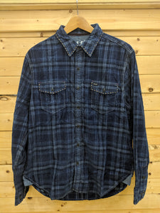 True Grit Rincon Plaid Cord Shirt