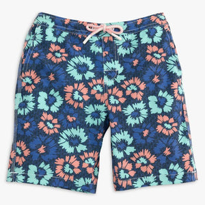 Vessup Jr. Half Elastic Swim Short