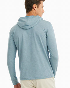 Gunnar Striped Long Sleeve Hooded T-Shirt