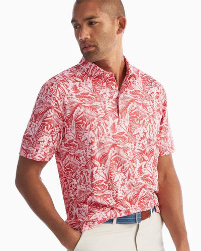 Willis Printed PREP-FORMANCE Jersey Polo
