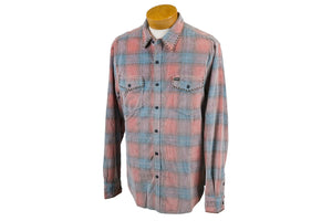 True Grit Cody Plaid Cord Shirt