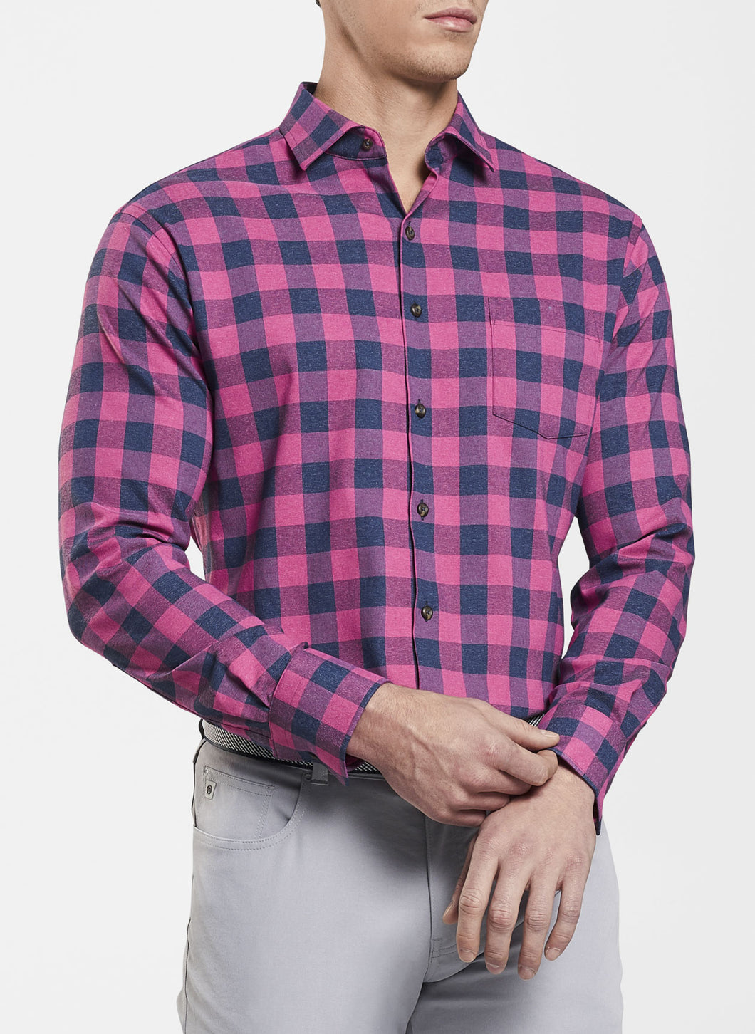 Jasper Buffalo Plaid Performance Flannel