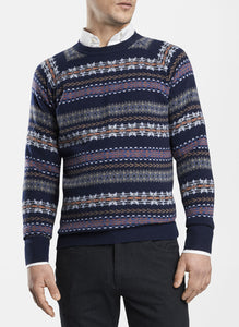 Mountainside Wicked Fair Isle Crewneck Sweater