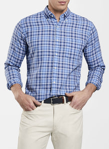 Seaside Oak Bluffs Plaid Sport Shirt