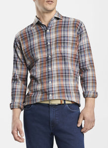 Mountainside Juno Dunes Multi-Plaid Sport Shirt