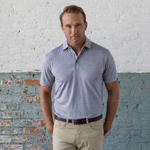 Tybee Performance Stripe Jacquard Polo