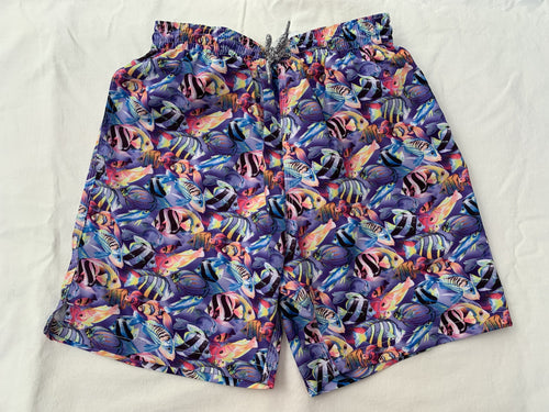 Reef Fish Swim Trunks